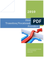 2010 Directory of Transition Service Providers