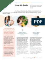 5 Pasos Para El Desarrollo Mental en Primera Infancia