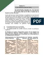 Tarea IV - Introduccion a La Historia Dominicana