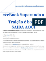 eBook Superando a Traição