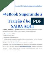 eBook Superando a Traição
