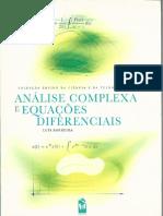 Análise Complexa e Equações Diferenciais - Luís Barreira