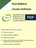 4 - Movimiento Circular Uniforme (2017)