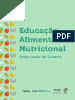 Educação Alimentar Nutricional - Articulação de Saberes