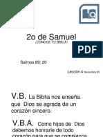 20171105 Leccion4 2do Libro Samuel