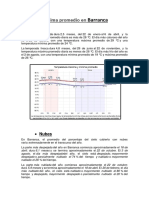 El Clima Promedio en Barranca
