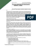 Informe de Practica en Laboratorio de Tecnologia Del Concreto