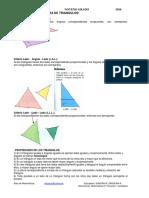 Criterios de Semejanza de Triangulos