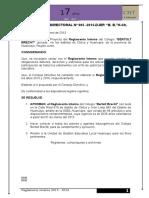 Reglamento Interno 2014-2015