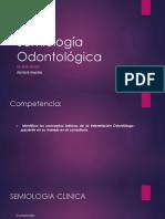 Semiología Odontológica CLASE 1