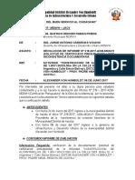 Informe Nº 031