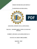 Informe de Granulometria Alexander Quispe