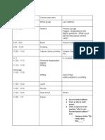 7 2f18 schedule