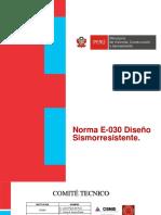 PowerPoint Norma E.030 2016
