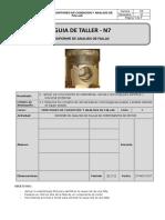 GUIA de TALLER 7 Informe de Analisis de Fallas