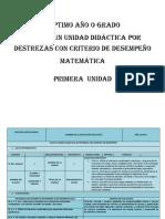 Pud Séptimo Matematicas