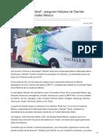 """""""Vivimos la diversidad"""", aseguran titulares de Daimler Vehículos Comerciales México"""
