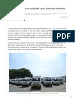 MAN Truck & Bus se consolida como aliado de Heineken México