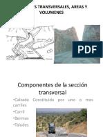 Secciones Transversales y Volumenes