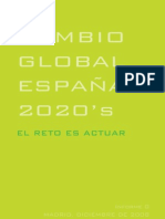 Cambio Global España 2020