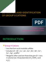 Tiandra Quali Group 2 Cations