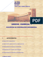 Convenios de Cooperacion Empresarial