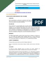 Especificaciones Tecnicas Camal Municipal
