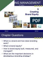 Kotler09 Brand Equity