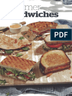 Panera 2018 Summer Sandwiches