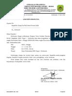 Surat Ijin Orang Tua Perkemahan PAB