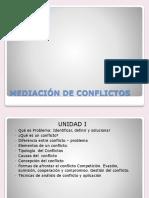 Manejo de Conflictos ,Elementos UCE1