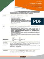 Impermeabilizante Chemita en Polvo v01.2017