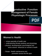 Reproductive Function