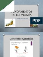 Tema I Conceptos Economía