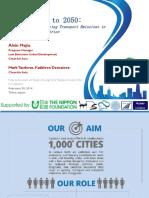 Vehicle Population in 2050 BAU