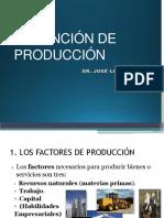 Tema III La Función de Producción