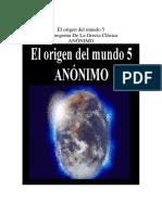 Anónimo - El Origen Del Mundo V