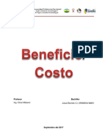 Beneficio CosTo
