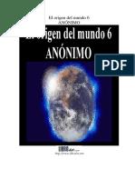 Anónimo - El Origen Del Mundo VI