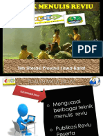 4. Teknik Menulis Reviu. REVISI