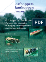 The Leafhoppers and Planthoppers of Germany Hemiptera Auchenorrhyncha Patterns and Strategies in a Highly Diverse Group of Phytophagous Insects Pensoft Series Faunistica 28
