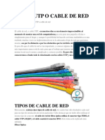 CABLE UTP O CABLE DE RED.docx