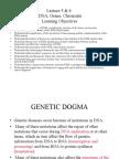 Genetics, Lecture 3 & 4 (Slides)