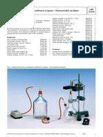 Coeficiente Adiabatico de Gases - Oscilador Flammersfeld