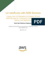 Git to Amazon s3 Using Webhooks