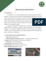Relatório Visita Técnica - Ergonomia
