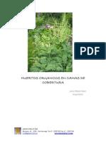Huertos Organicos en Camas de Cobertura Julio Perez Diaz Arquitecto