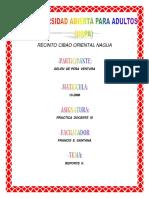 Reporte2 practica-docente III