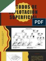Métodos de Explotación Superficial