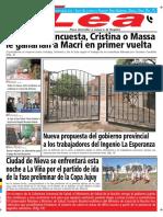 Periódico Lea Miércoles 18 de Julio Del 2018